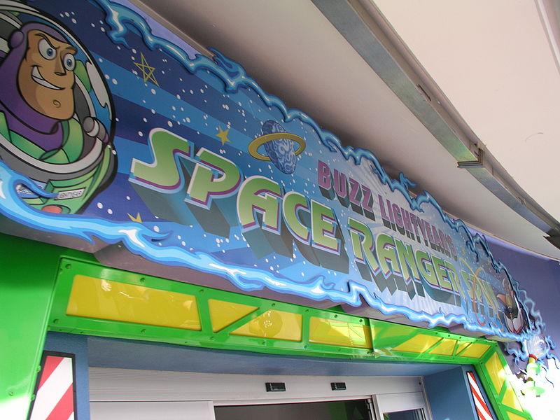 Buzz Lightyear Space Range