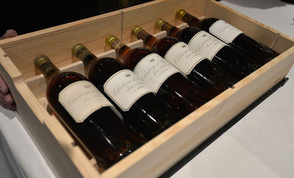 Case of Bordeaux Wine