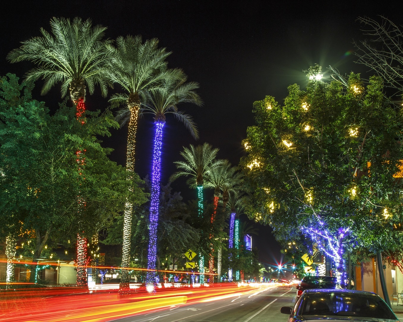 Chandler, Arizona, at Christmas