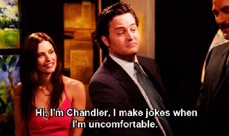 "Chandler on ""Friends"""
