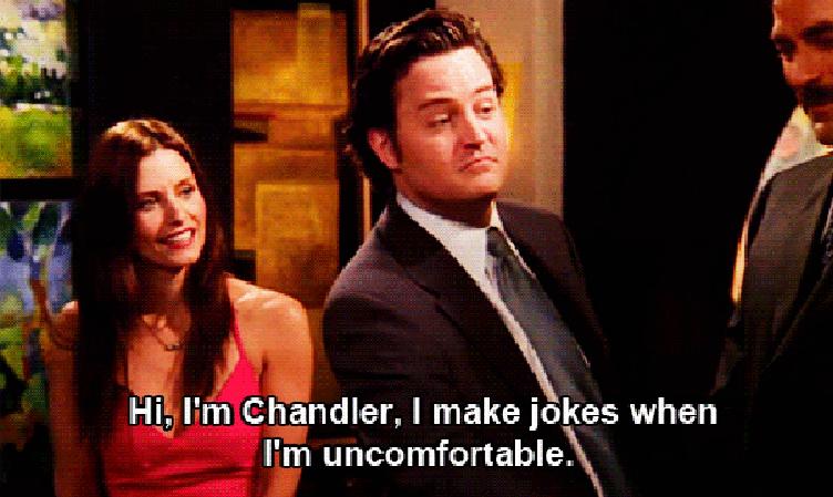 "Chandler on ""Friends"""