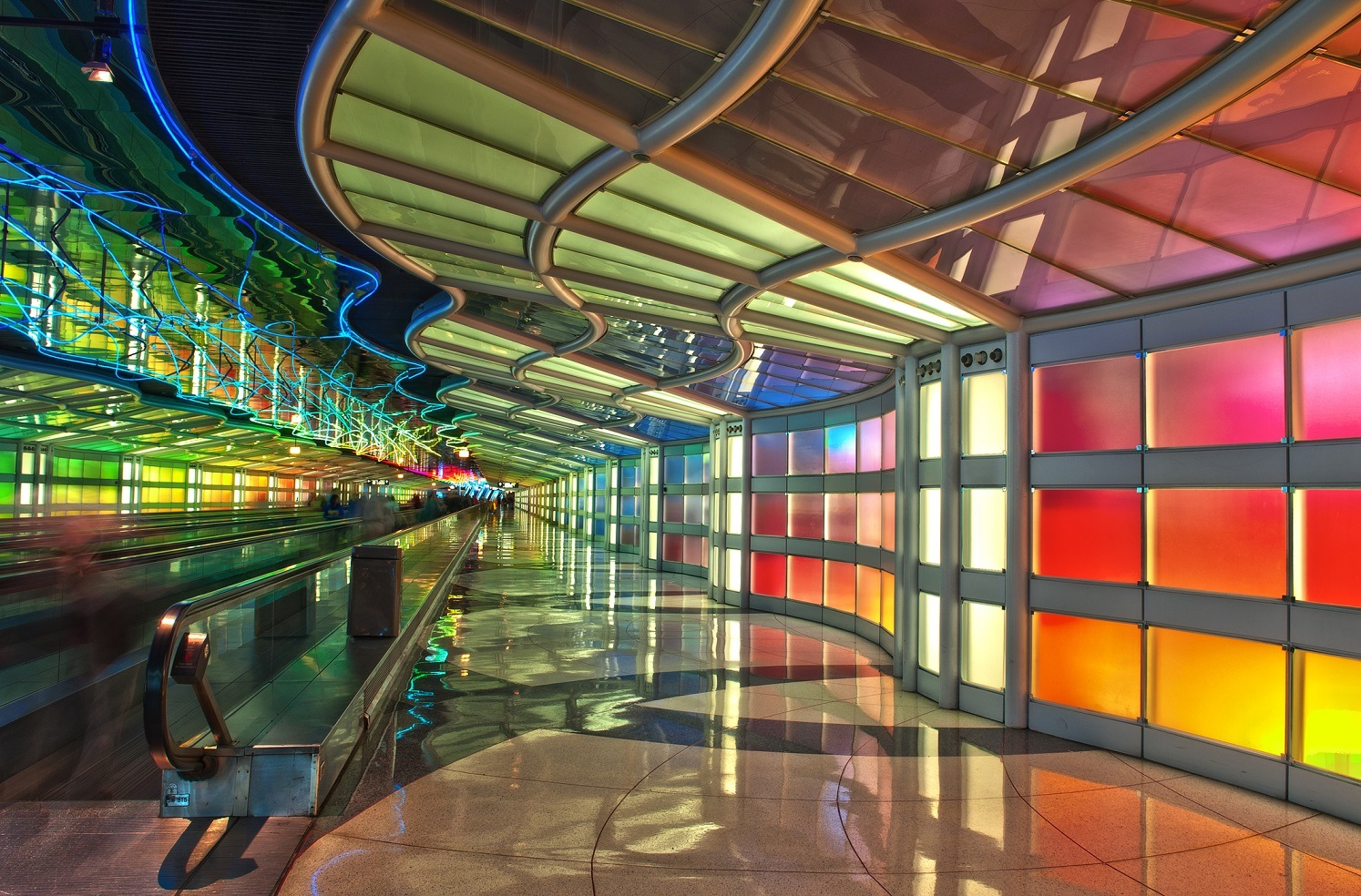 Passenger Tunnel, Chicago O'Hare Airport