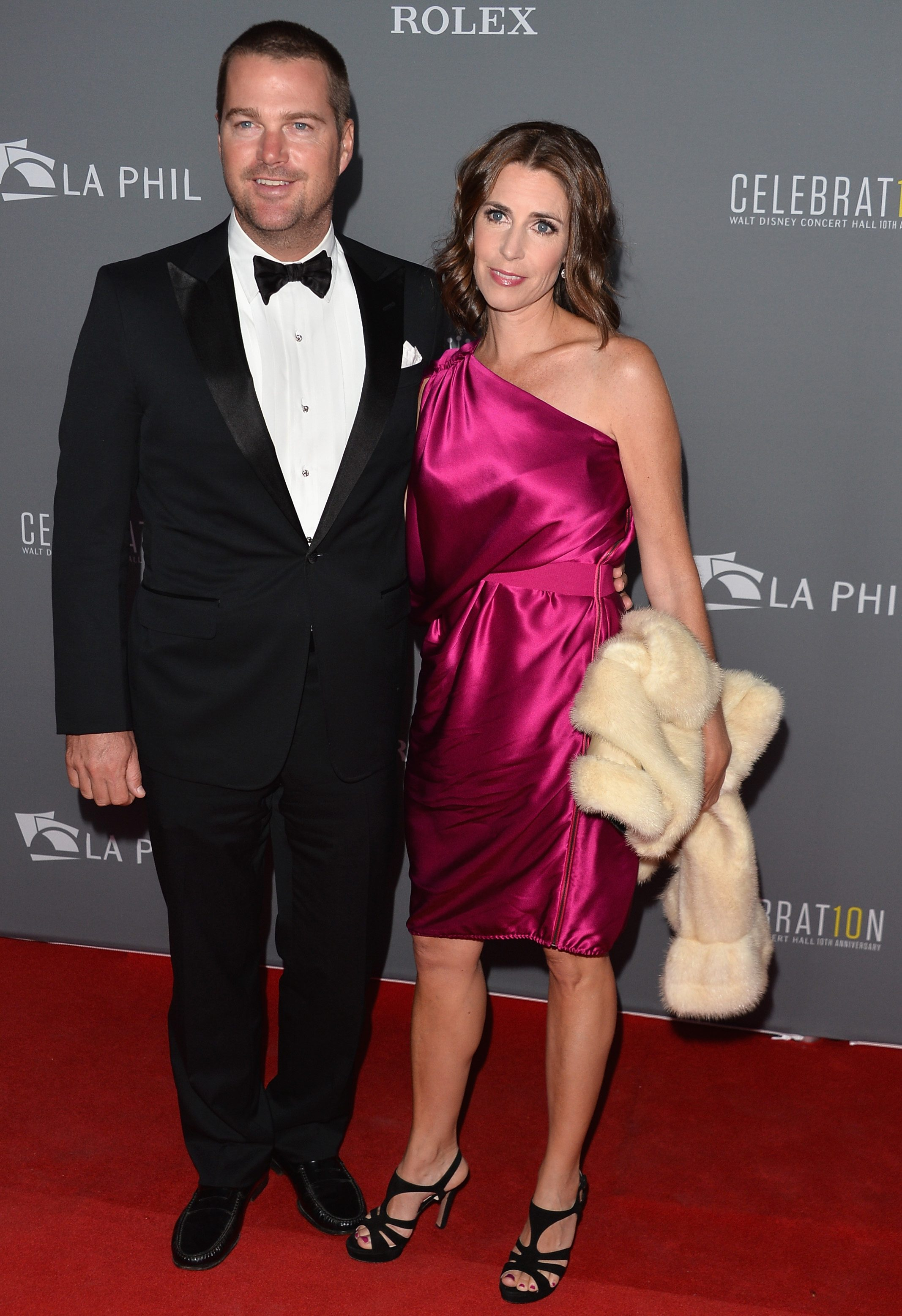 Chris O'Donnell and Caroline Fentress