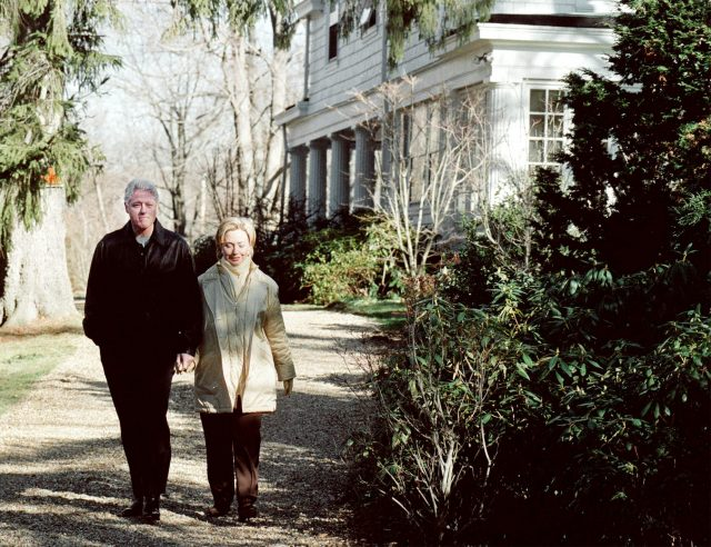 Clintons house Westchester