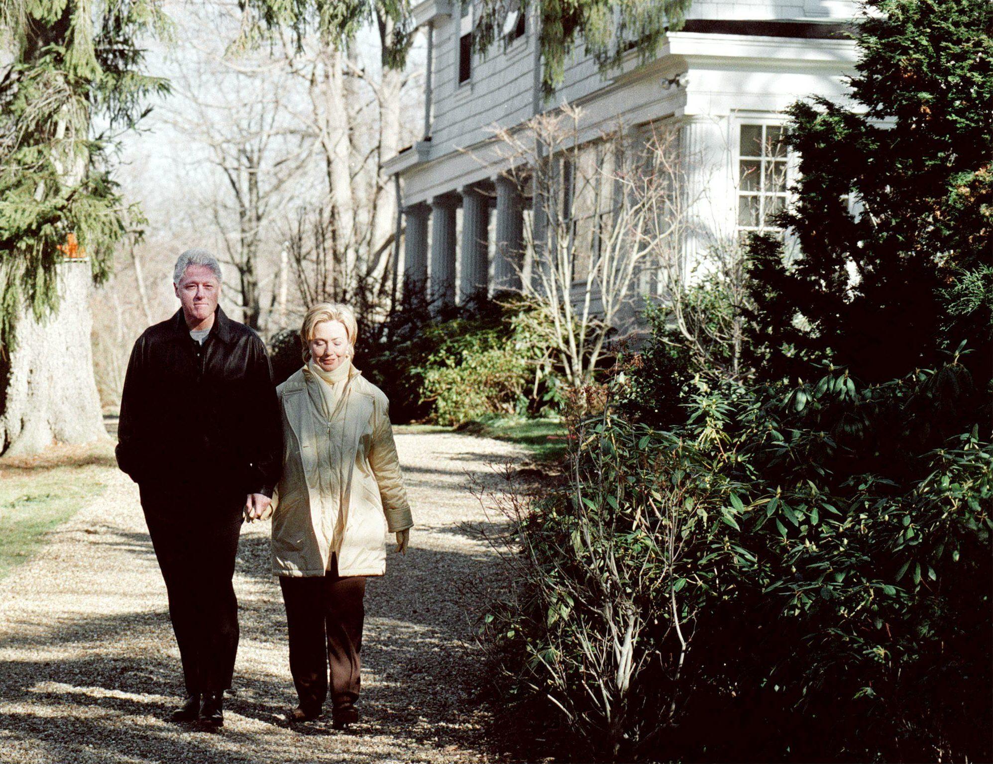 Clintons house Westchester