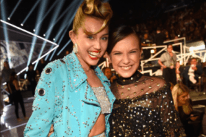 Millie Bobby Brown Texts and FaceTimes With Miley Cyrus All the Time