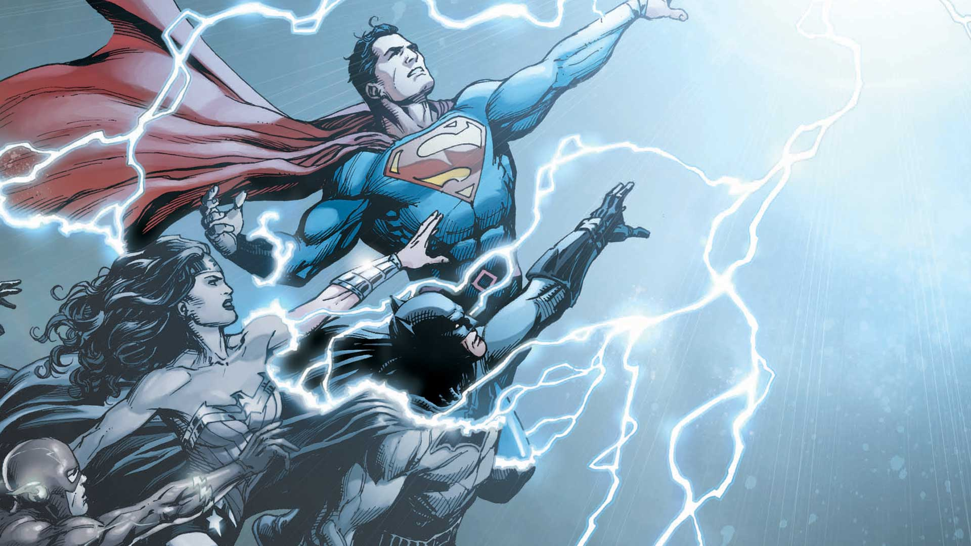Art for DC Universe: Rebirth No. 1