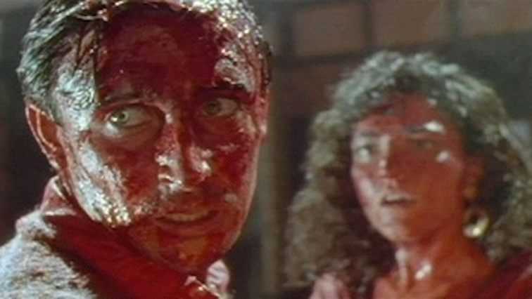 Timothy Balme and Diana Peñalver in Dead Alive