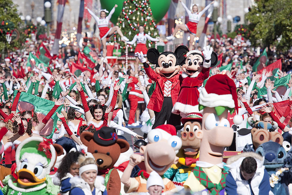 'Disney Parks Christmas Day Parade' Special Taped At Magic Kingdom