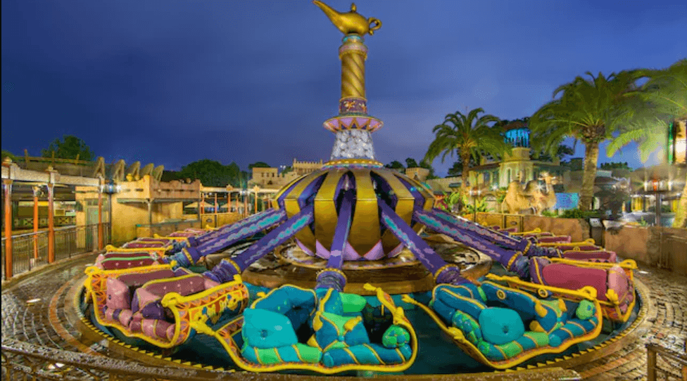 Disney Magic Carpets of Aladdin