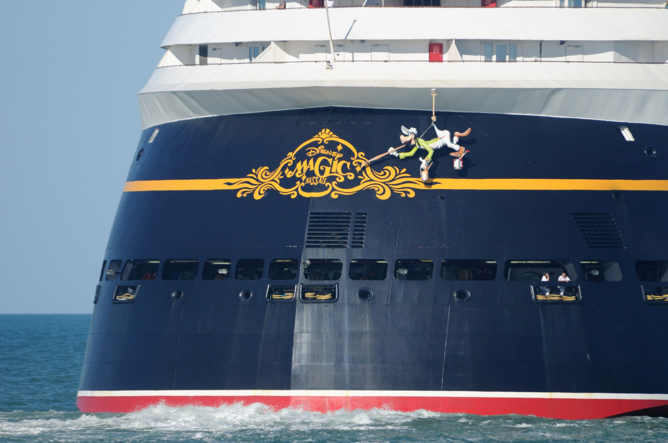 Disney Magic Cruise ship