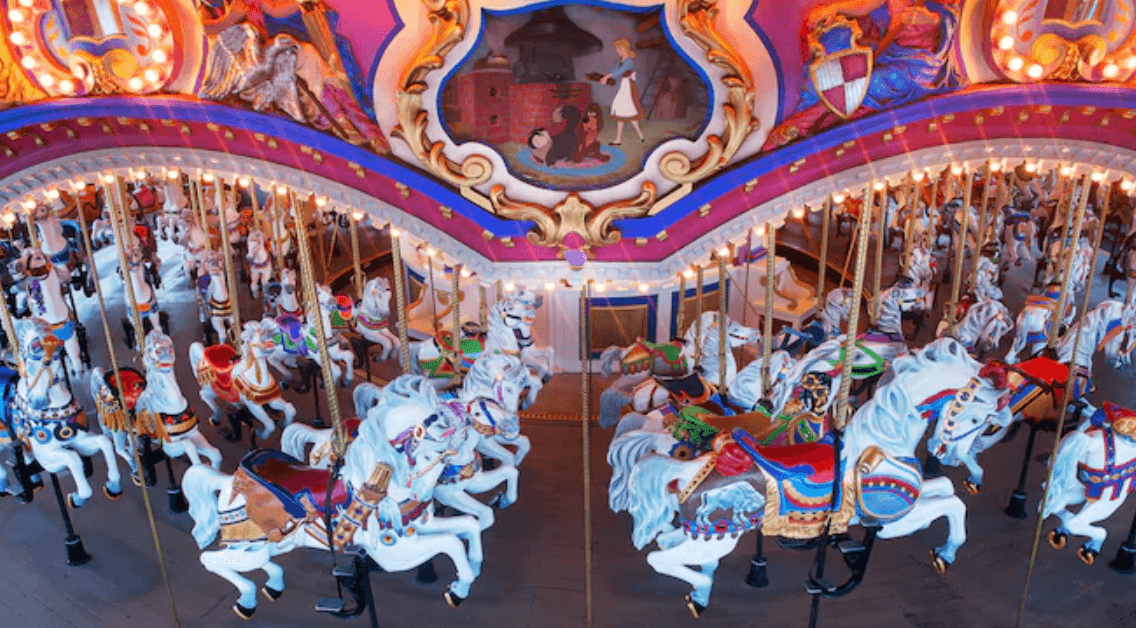 Disney Prince Charming's Regal Carrousel