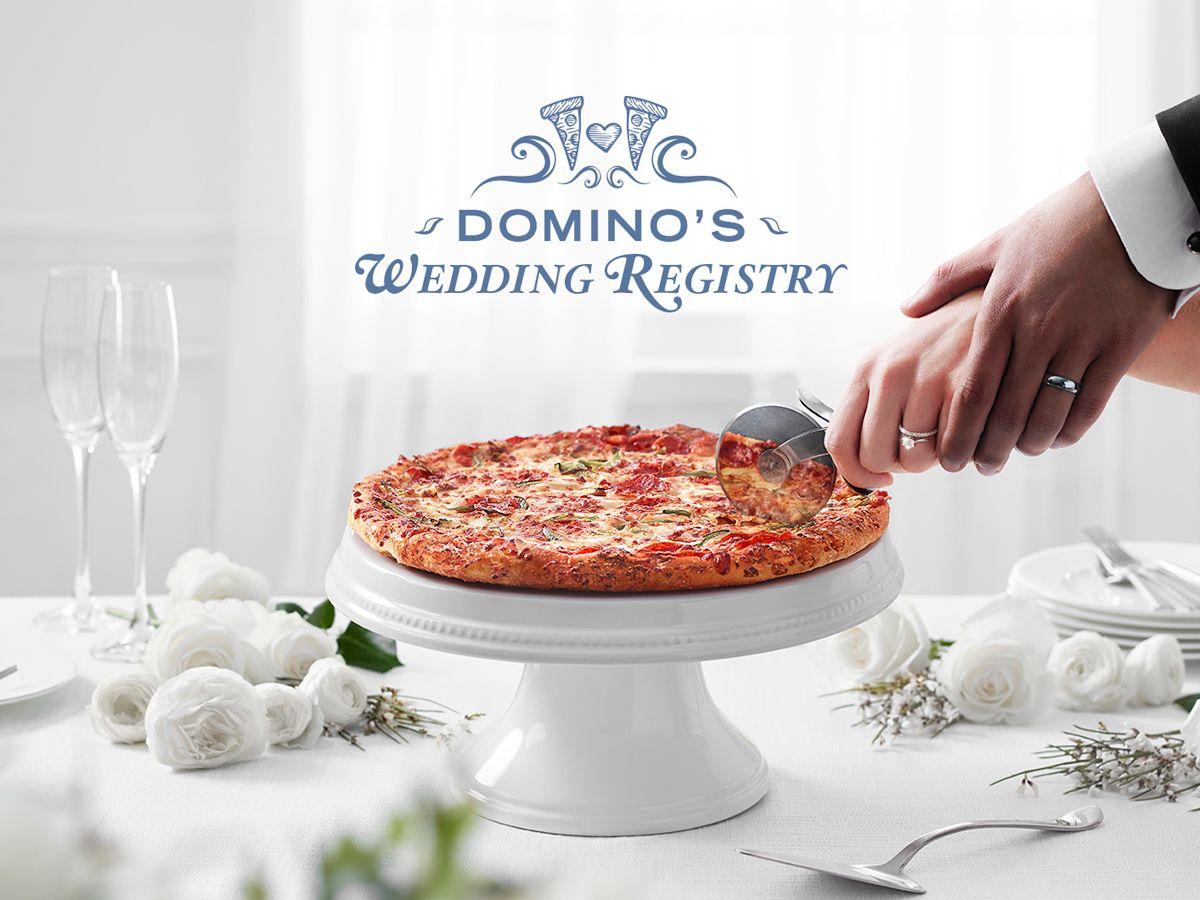 Domino's wedding registry
