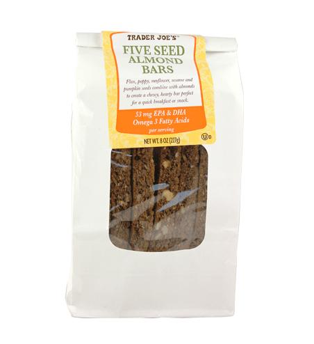 Five Seed Almond Bars