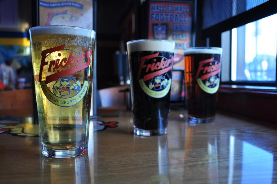 Fricker's Restaurant beer