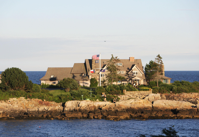 Bush Family Home Maine