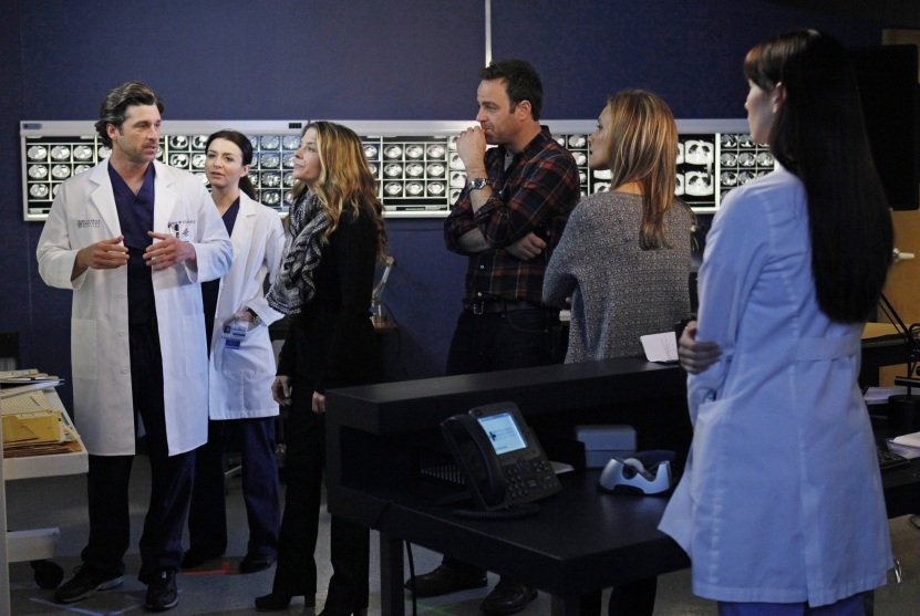 """Characters from Grey's Anatomy and Private Practice in crossover episode """"You Break My Heart"""""""