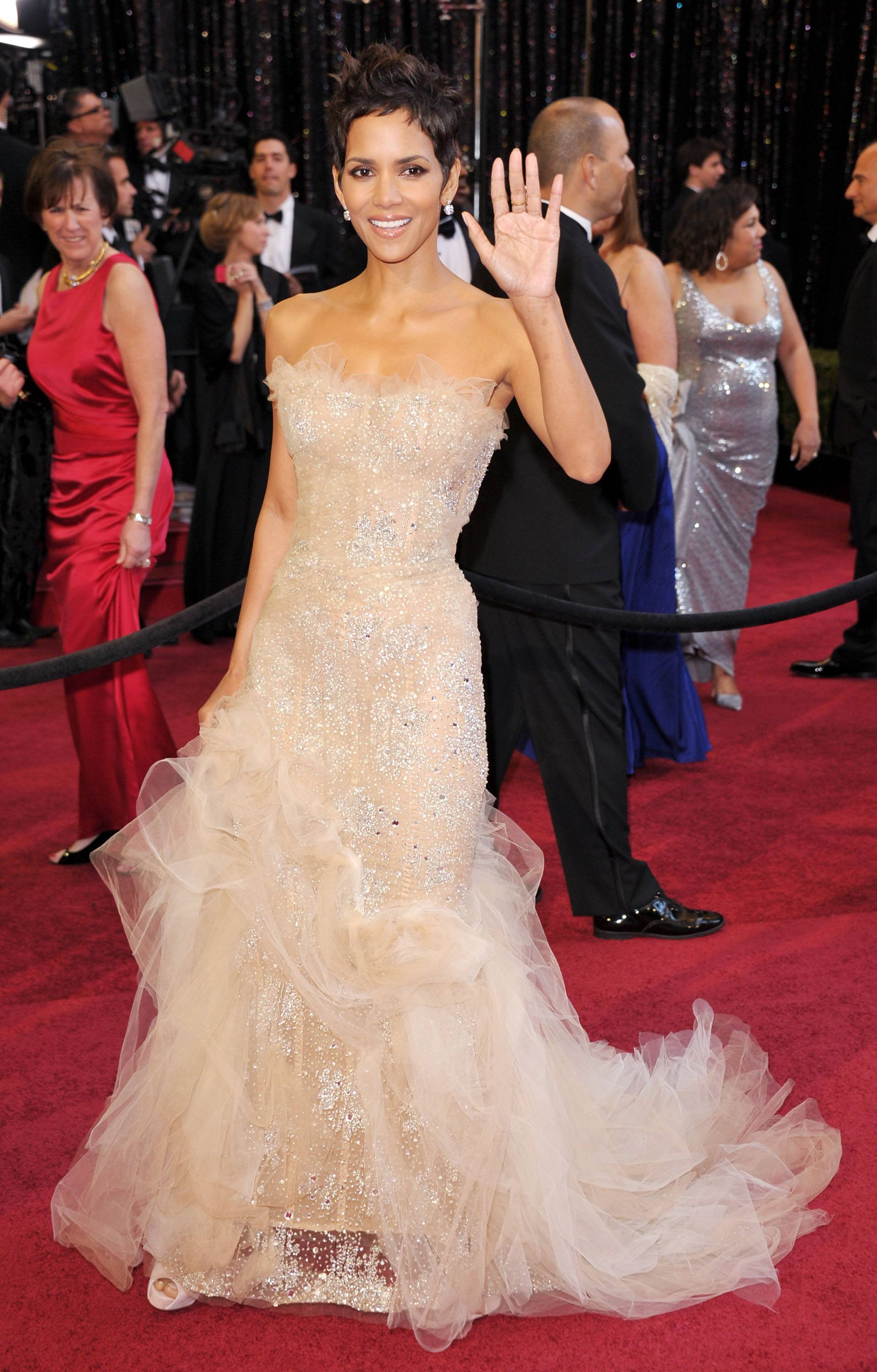 Halle Berry Marchesa