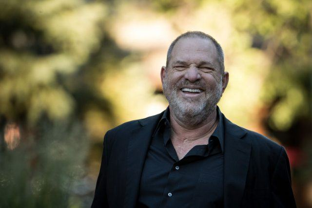 Harvey Weinstein at the Allen & Company Sun Valley Conference
