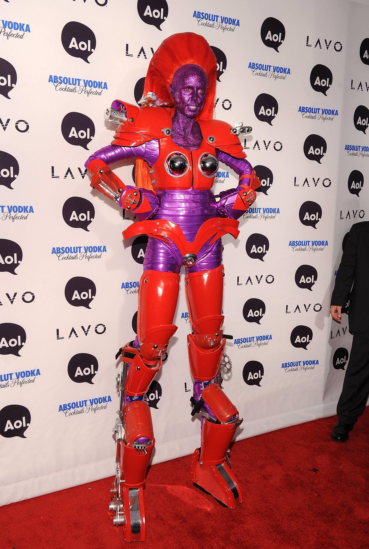 Heidi Klum Halloween super hero