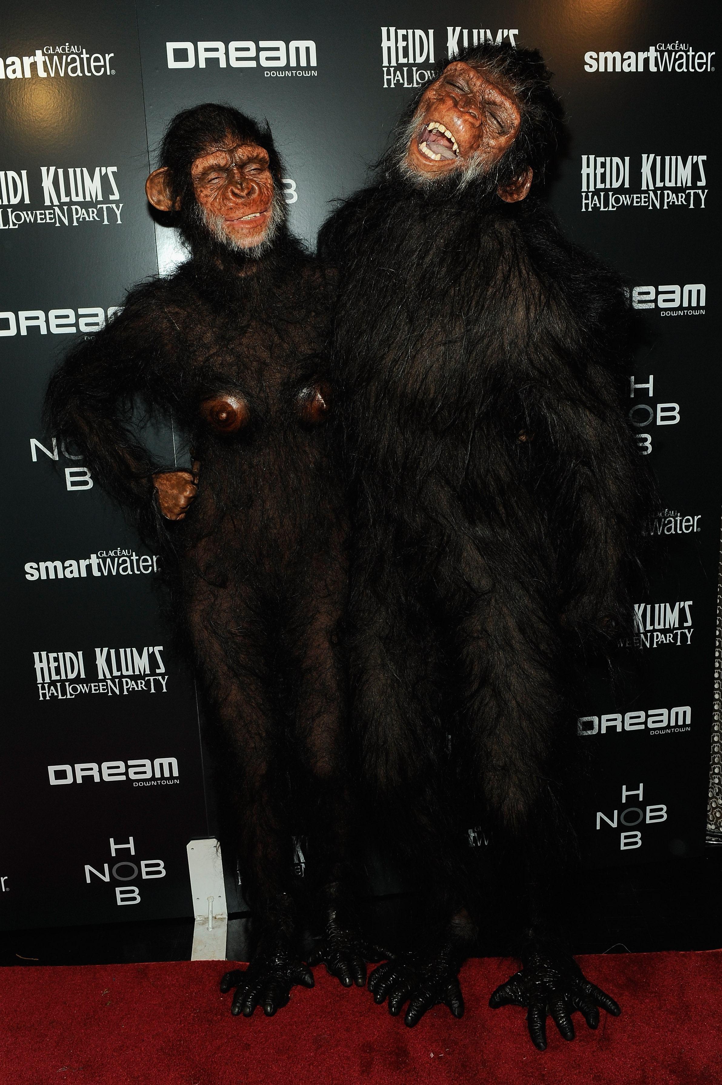 Heidi Klum Ape halloween