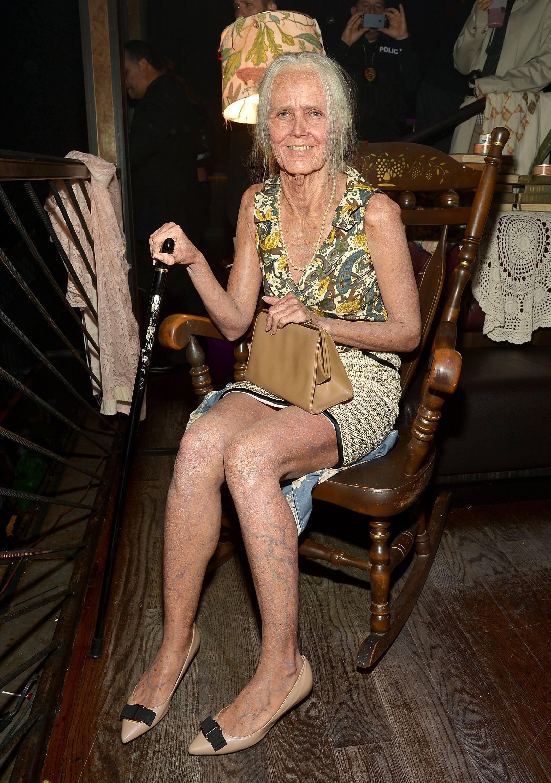 Heidi Klum Old Lady Halloween