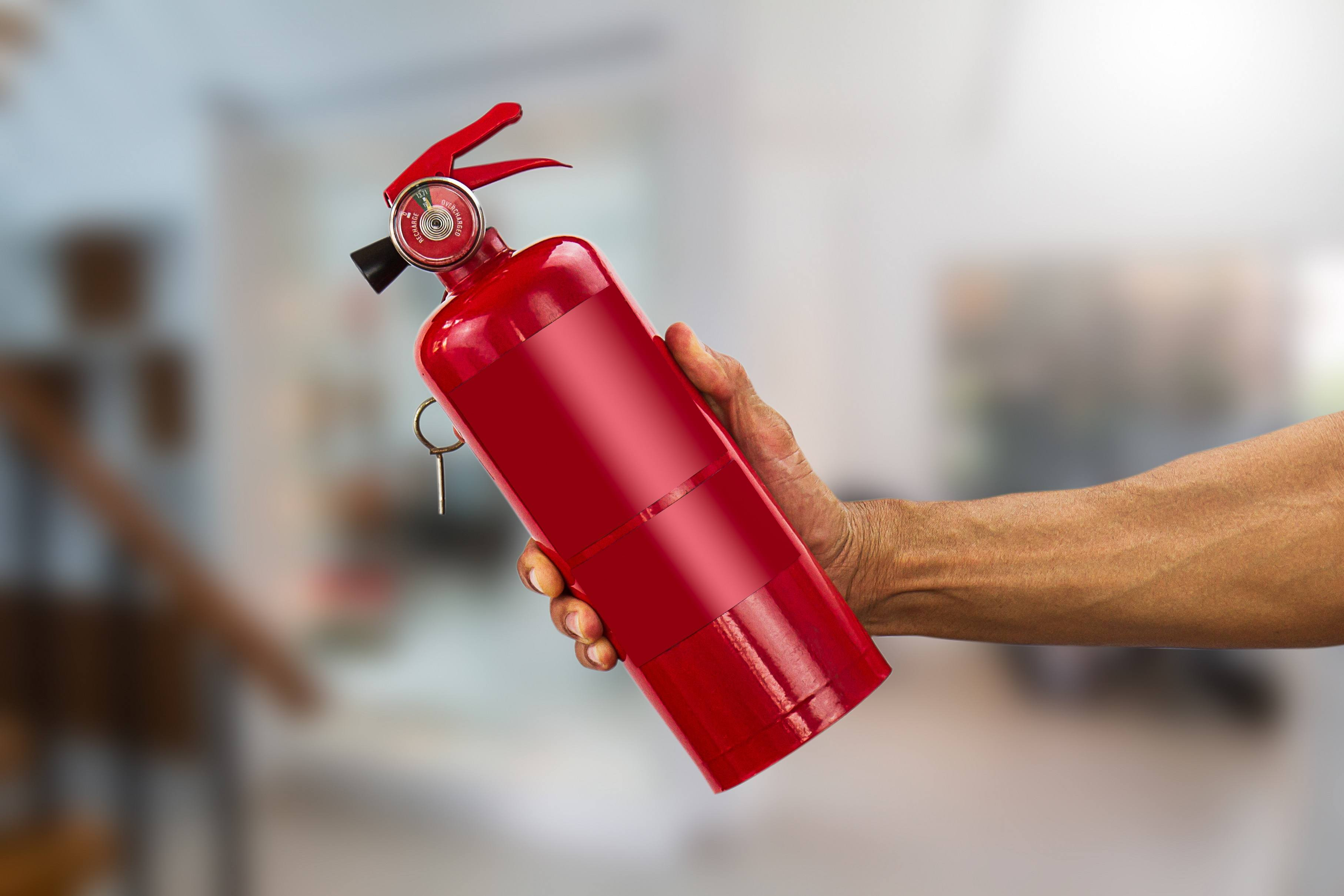 Small home fire extinguisher