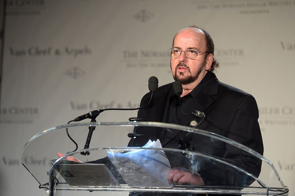 James Toback speaks onstage at the Sixth Annual Norman Mailer Center and Writers Colony Benefit Gala Honoring Don DeLillo, Billy Collins, and Katrina vanden Heuvel at the New York Public Library on October 27, 2014 in New York City.
