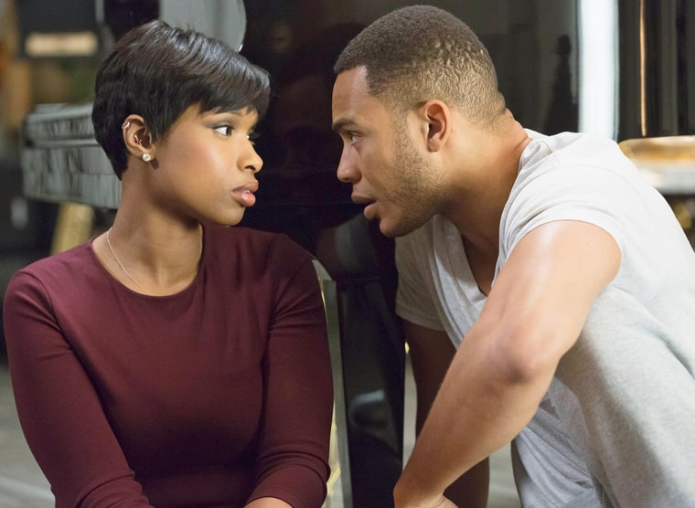 Jennifer Hudson and Trai Byers on Empire