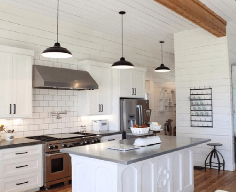 Gaines farmhouse kitchen