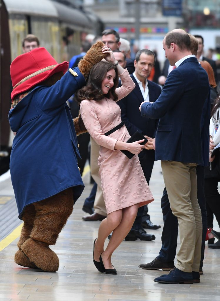 Kate Middleton Dancing with Paddington bear