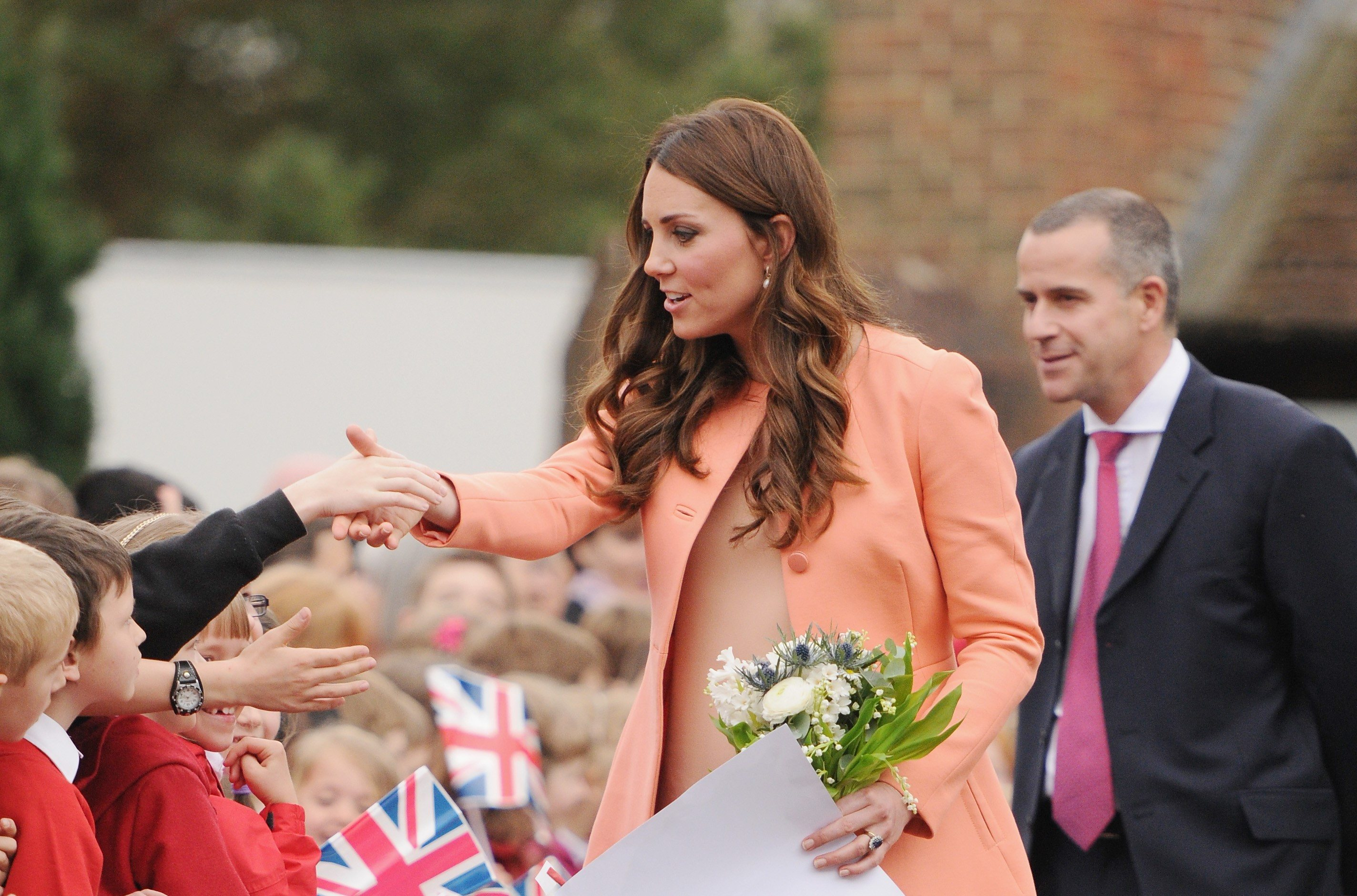 Catherine, Duchess Of Cambridge visits Naomi House on April 29, 2013 in Hampshire, England.