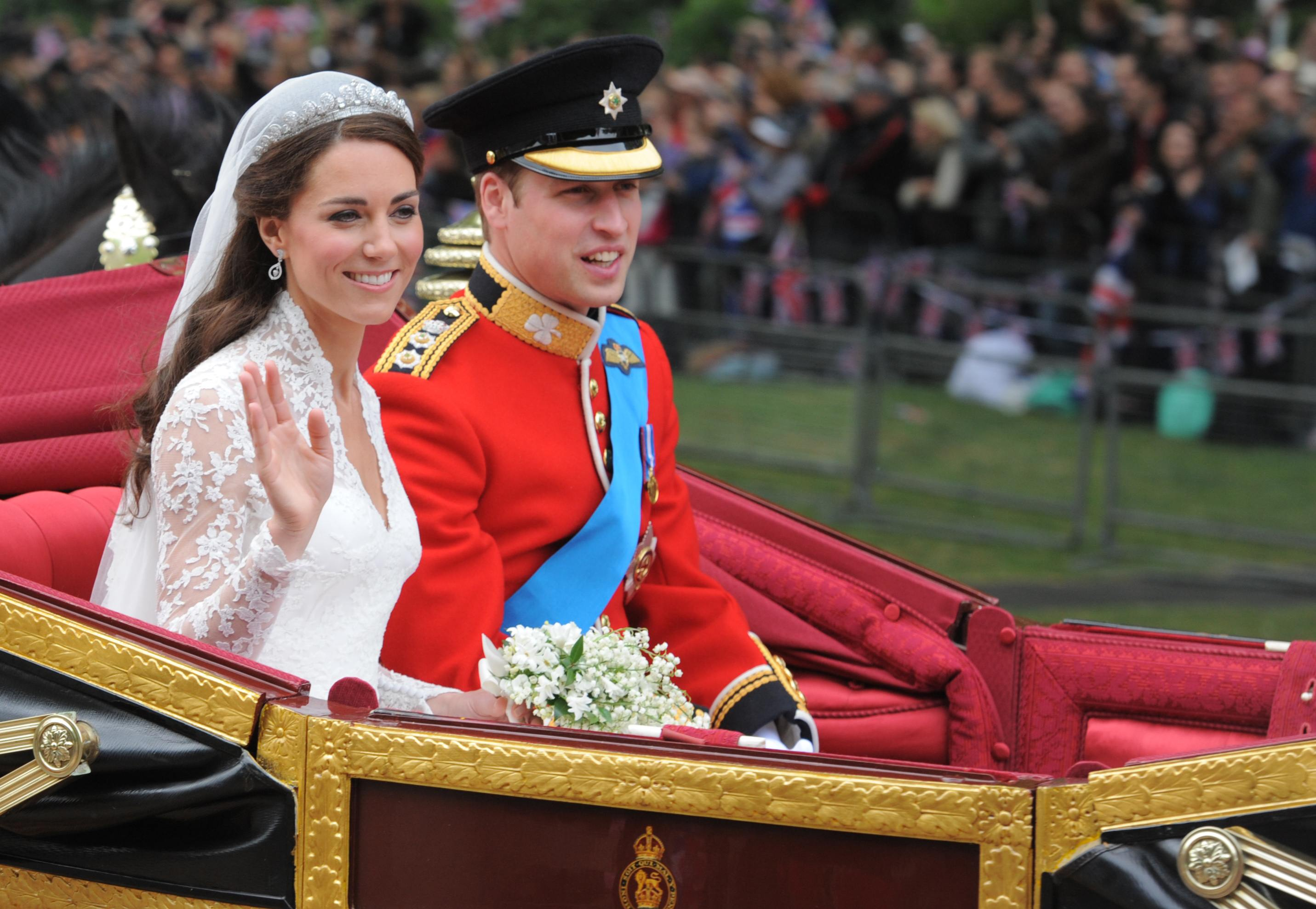 Kate Middleton and Prince William's wedding