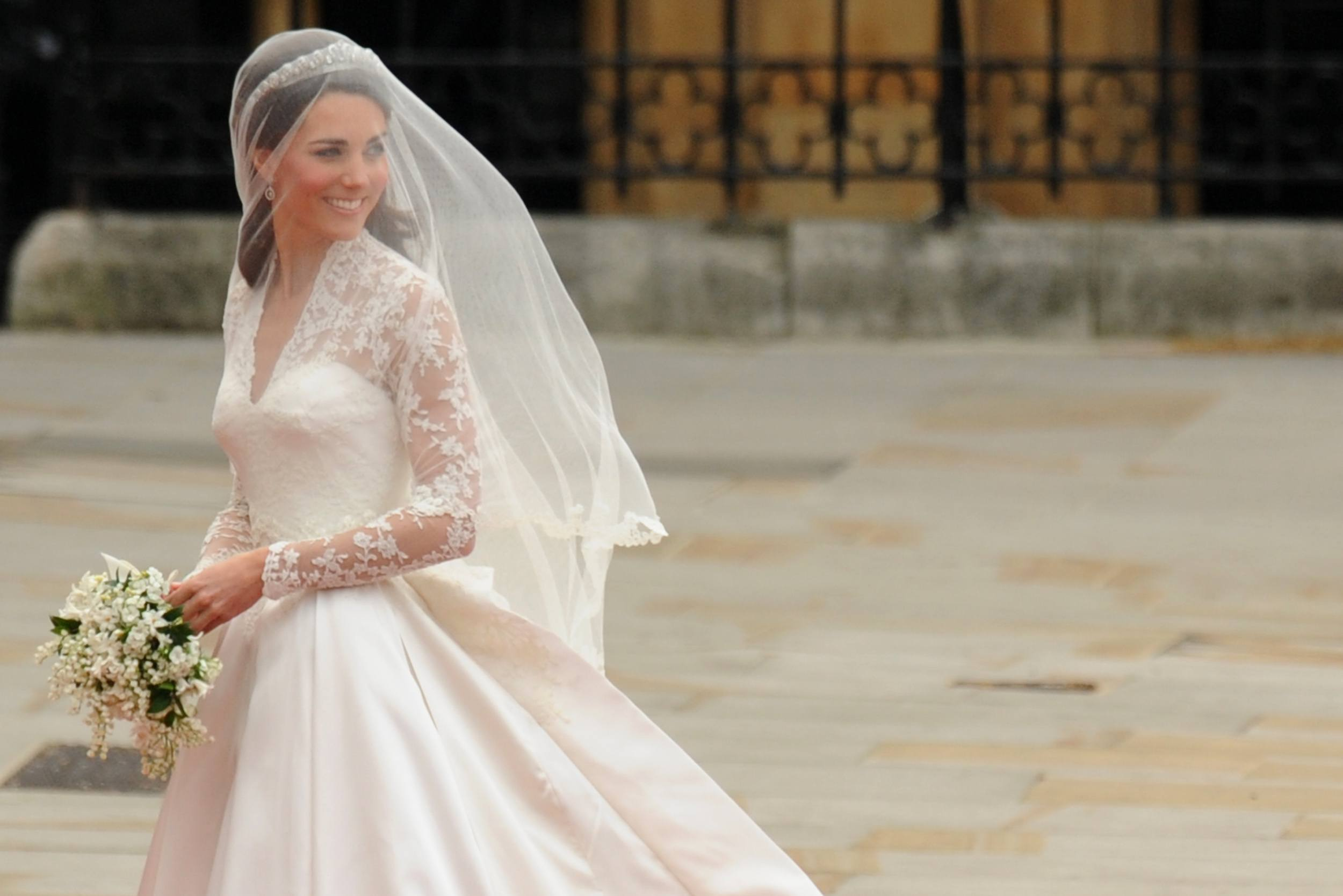 Here's Kate Middleton's Second Wedding Dress You Never Got