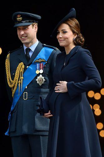 Kate Middleton Prince William at a Memorial