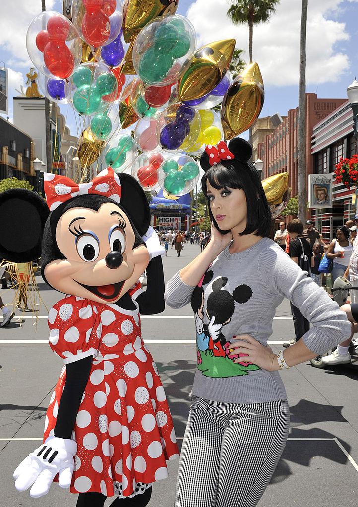 Katy Perry at Disney