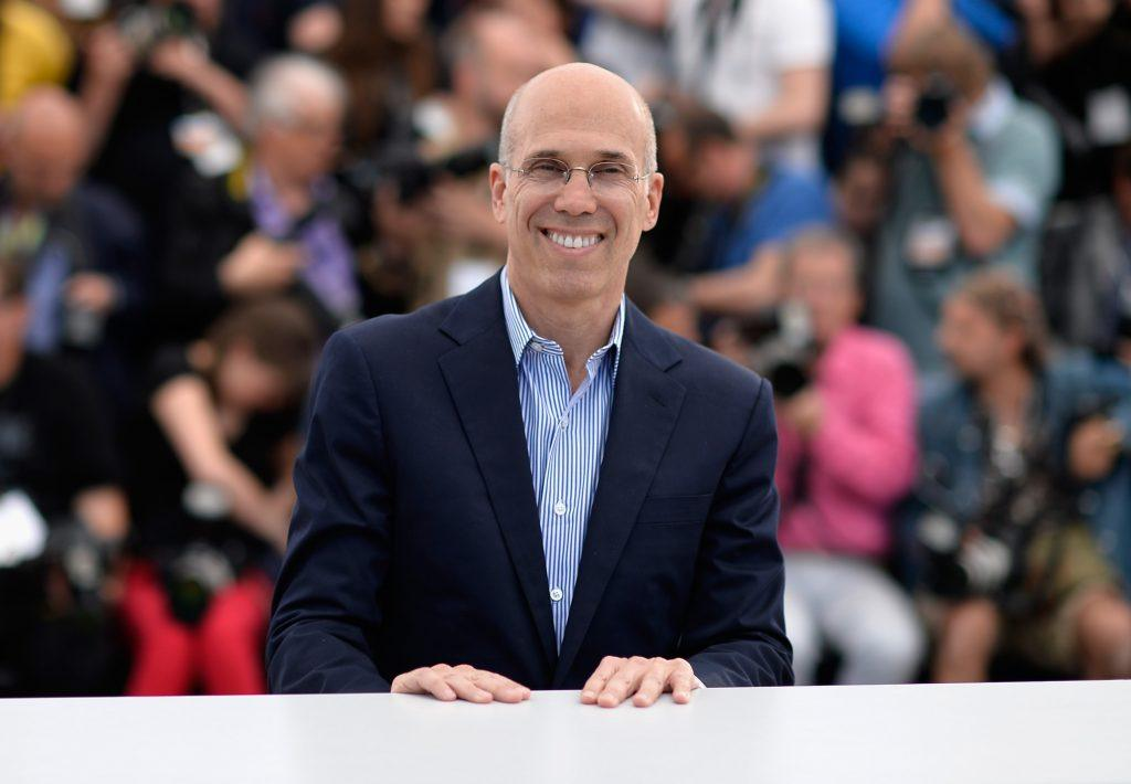Jeffrey Katzenberg at the Cannes Film Festival on May 16, 2014 in Cannes, France