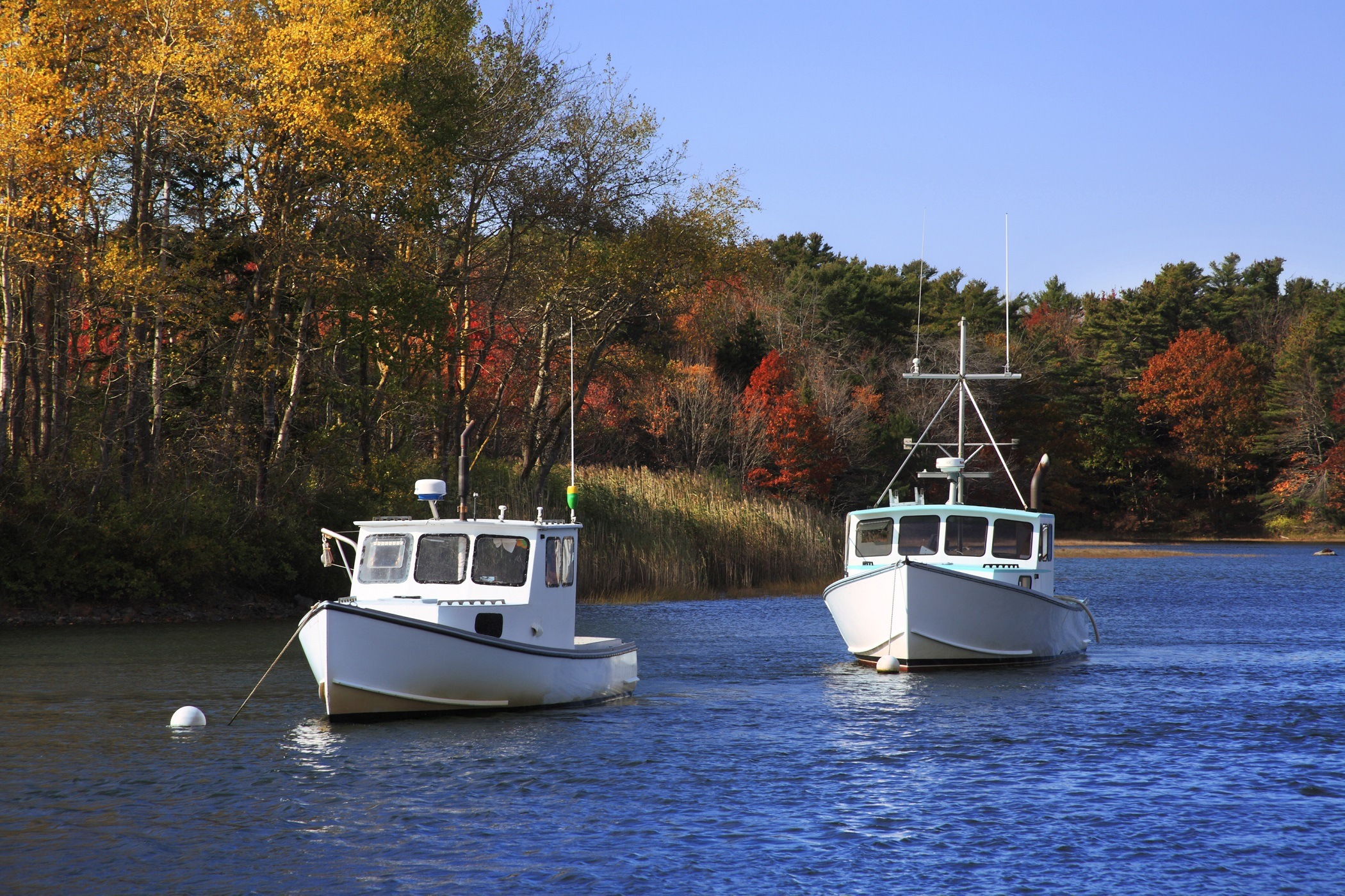 Kennebunkport Harbor, Maine