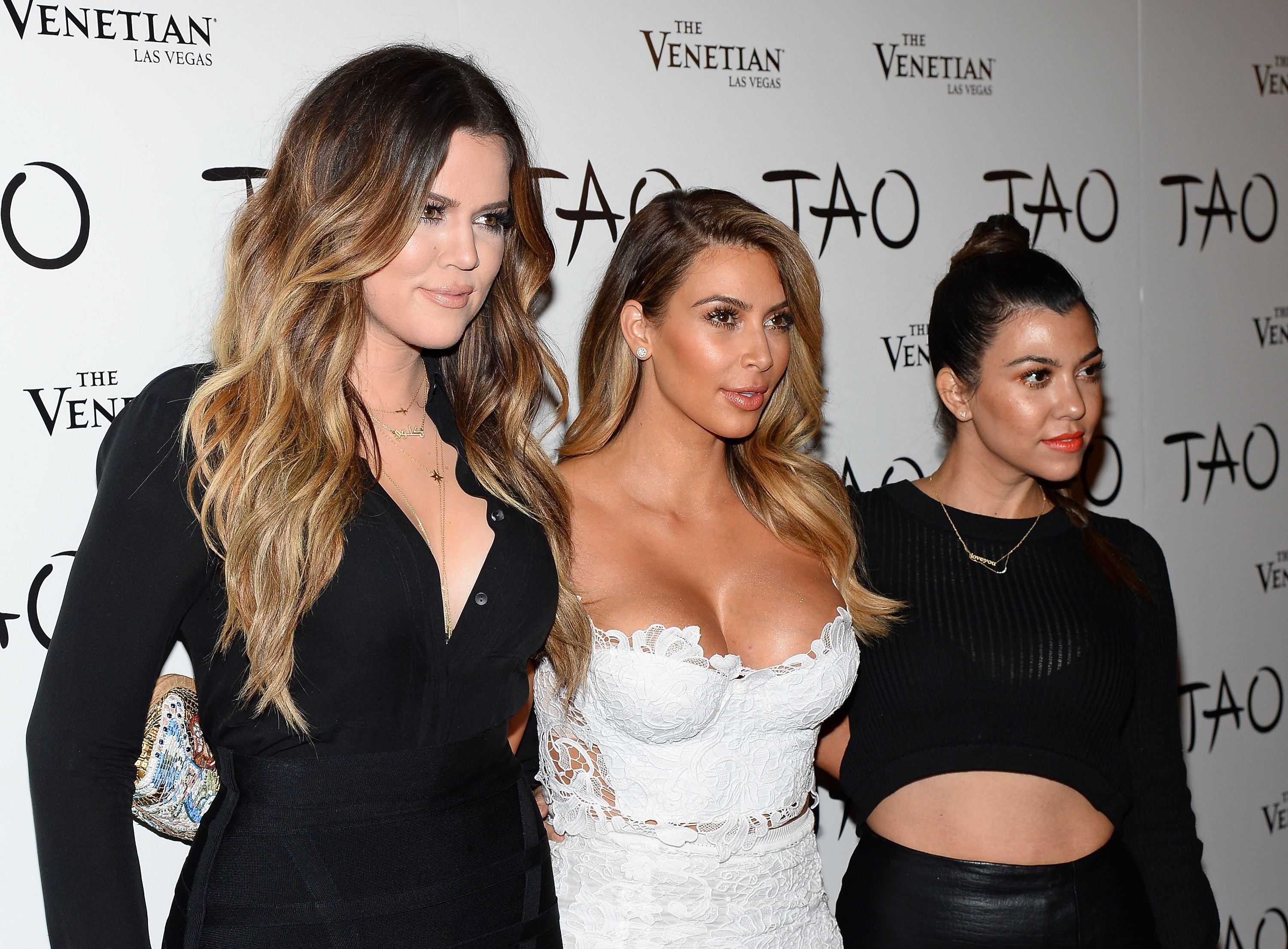 Kim Kardashian Khloe Kourtney