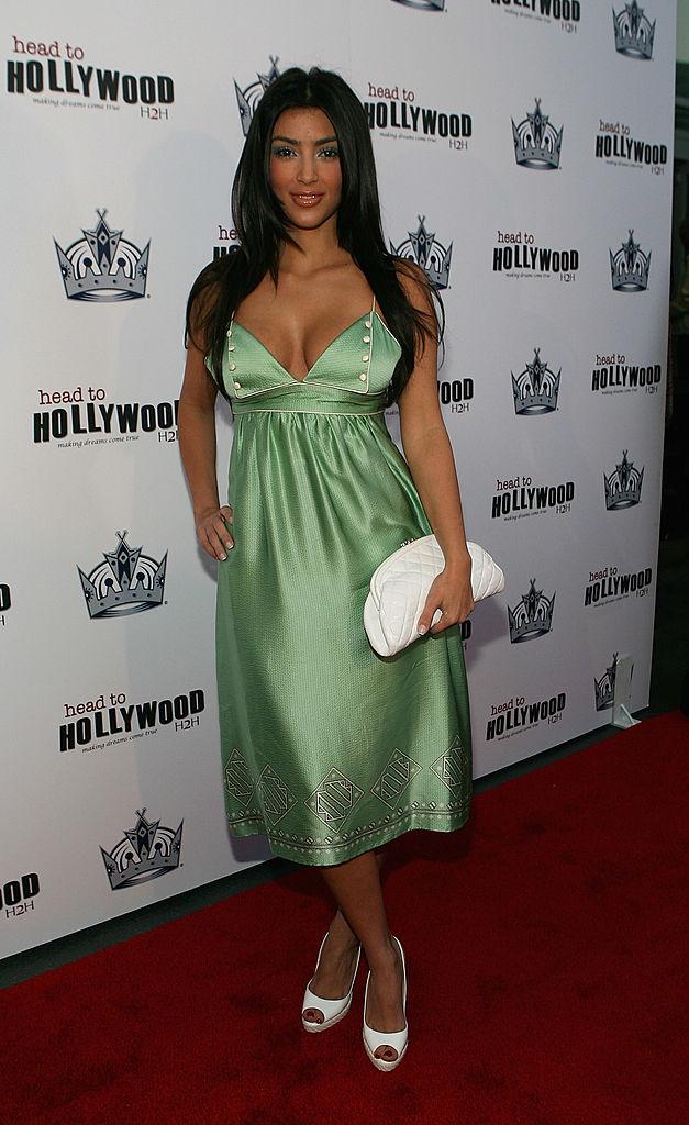 kim kardashian Carmen Electra party