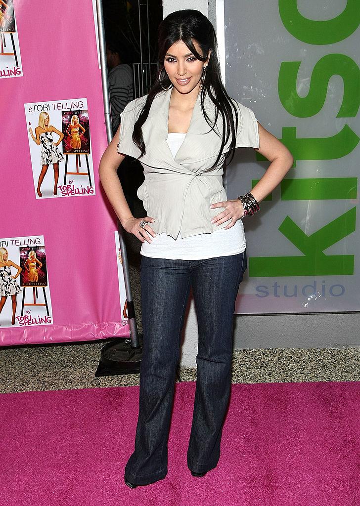 Kim Kardashian book launch