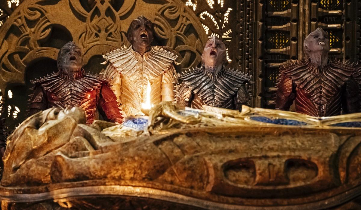Klingons on Star Trek Discover