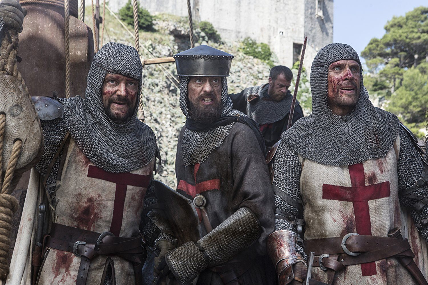 The Knights of Templar in Knightfall