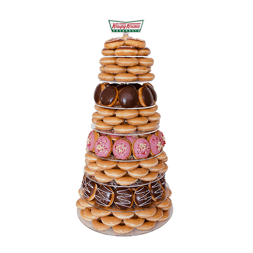 Krispy Kreme donut tower