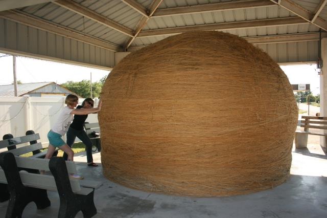 Ball of Twine from Cawker City Kansas