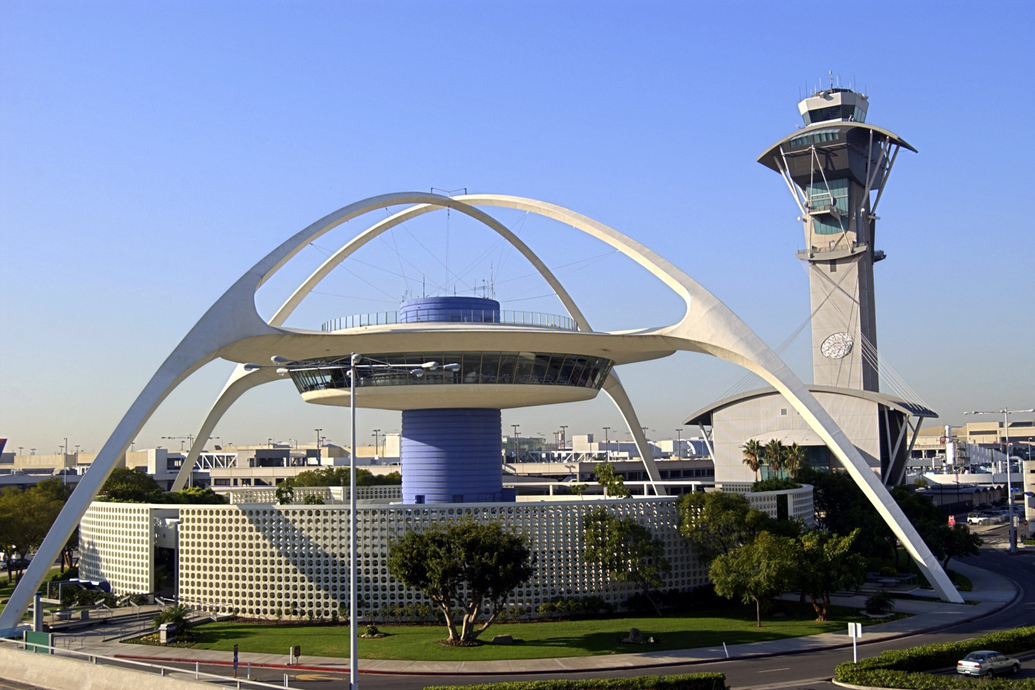 LAX airport in Los Angeles