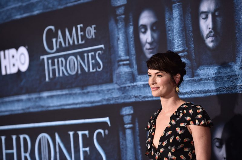 Lena Headey at the premiere of Game of Thrones Season 6.