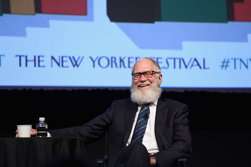 David Letterman at The New Yorker Festival 2016 - David Letterman Talks With Susan Morrison at MasterCard Stage at SVA Theatre on October 7, 2016 in New York City.