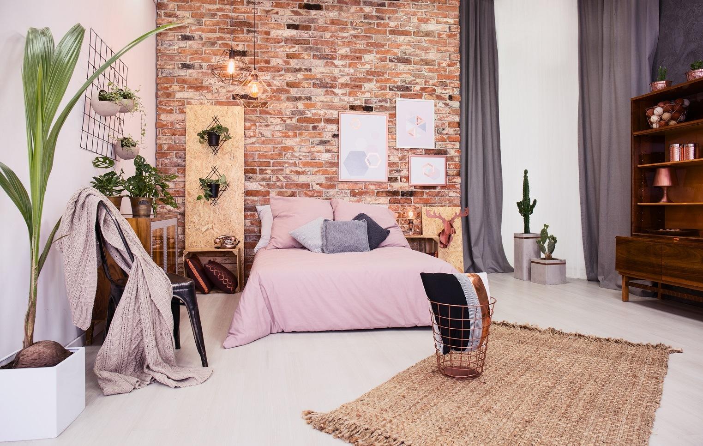 Light pink bedroom