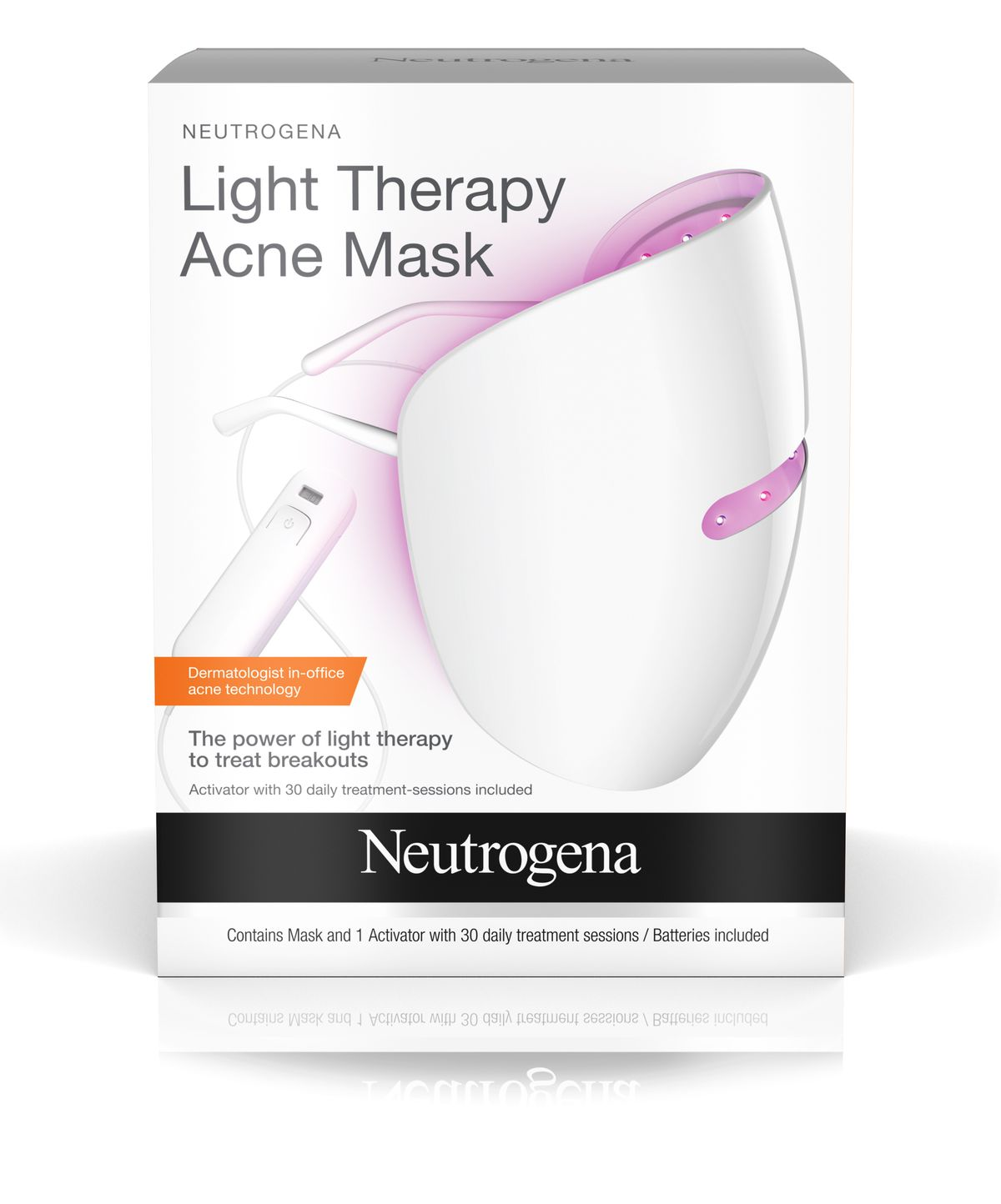 Neutrogena light therapy mask